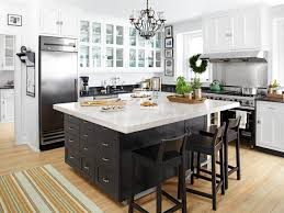 Kitchen, Large Kitchen Island With Seating Lovely White Captivating  Stainless Steel Awesome Decorating Ideas Elegant
