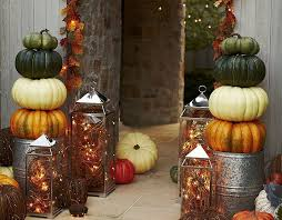 218 Best Lanterns Images On Pinterest  Fall Lanterns Seasonal Pottery Barn Fall Decor