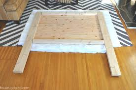 Remarkable Making A Headboard How To Make A Nailhead Upholstered Headboard  House Updated