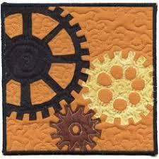 gears quilt pinnable (1) | Quilting | Pinterest | Patchwork, Quilt ... & steampunk quilt patterns - Google Search Adamdwight.com