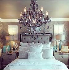glamorous master bedroom decorating ideas chandeliers bedrooms and
