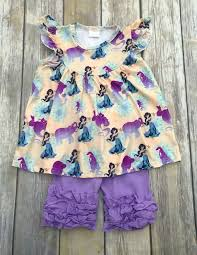 Rylee Faith Designs Jasmine Inspired Short Set Limited Short Outfits