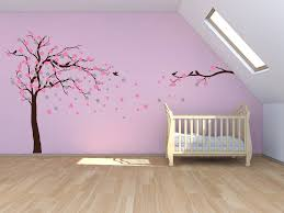 fl blossom tree wall stickers mirrored direction