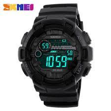 best watch men in black 3 products on wanelo men s sport digital wrist watch both time clock timing alarm back light waterproof