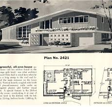 crafty house plans from the contemporary s wire design on home 1950s ranch style full size