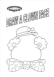 Beautiful Circus Coloring Pages 39 With Additional Free Coloring