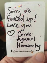 be careful what you wish for the way cards against humanity responded to this girl s complaint is hilarious bored panda