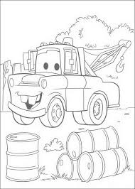 Cars Coloring Page Disney Coloring Page Picgifscom