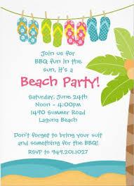 Beach Invitation Cute Beach Party Invitations A Breeze To Customize