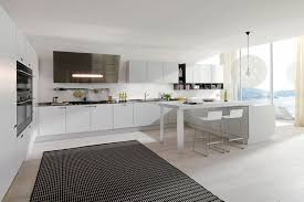 Modern White Kitchen Designs Mid Century Modern Kitchen Design Style For Your Dream Home
