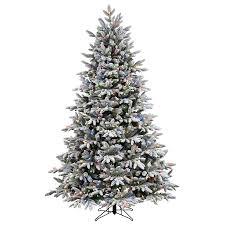 PreLit 45u0027 Vermont Fir Artificial Christmas Tree 250 Multi Sale On Artificial Prelit Christmas Trees