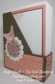 Mini Magazine Holder Mini Magazine Holder Note Card Set creative elements stampin up 66