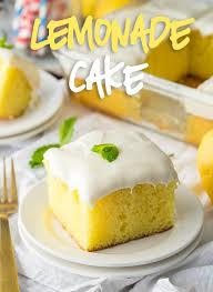 Super Easy Lemonade Cake Recipe I Wash You Dry
