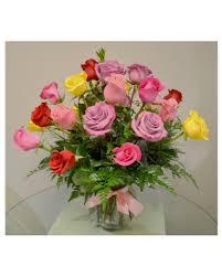 quick view rainbow roses premium