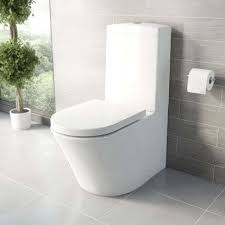 grey toilet seat soft close. mode tate close coupled toilet with soft seat pan connector grey
