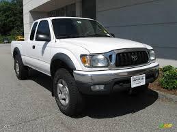 2002 Super White Toyota Tacoma V6 Xtracab 4x4 #13615841   GTCarLot ...