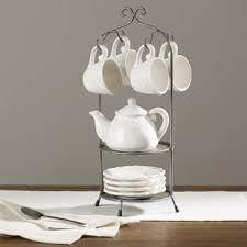 Tea Set Display Stand For Sale Teacups Saucers You'll Love Wayfair 87