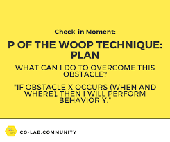 Prepare For Transformative Results Use The Woop Technique