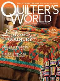 MAGAZINES: Quilter's World and others by Annie's & Check It Out Adamdwight.com