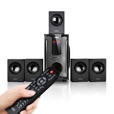 Dàn Loa Gia Đình Cao Cấp Enkor 5.1 H3811B Kết Nối 3.5mm/Bluetooth/USB/SD  card/Radio Công Suất 200W - Hàng Chính Hãng