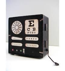 Vintage Eye Chart Light Box Vintage Eye Chart Light Box Eye Chart Vintage Medical