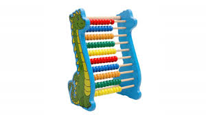 Wooden Math Games Lewo Classic Wooden Bead Abacus Dinosaur Math Games Learning Toys 98