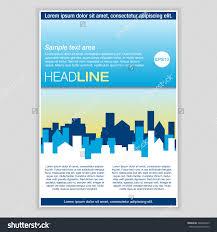 creative brochure template design real estate stock vector creative brochure template design for real estate abstract vector flyer pamphlet leaflet layout