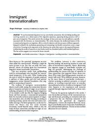 immigrant transnationalism by roger d waldinger immigrant transnationalism by roger d waldinger