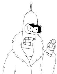 futurama coloring pages. Exellent Pages Futurama Coloring Pages 10 In A