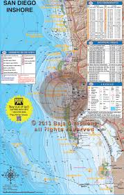 Fishing Charts Mapping Gps Coordinates San Diego Inshore
