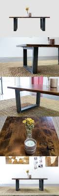 Industrial Style Coffee Tables 17 Best Ideas About Industrial Style Coffee Table On Pinterest