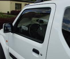 <b>Дефлекторы окон</b>. — <b>Suzuki</b> Jimny, 1.3 л., 2011 года на DRIVE2