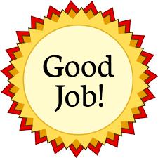 Good Job Template Award Medal Red Good Job Education Awards Award_medal