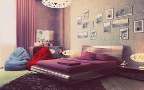 Purple And Cream Bedroom Bedroom Bedroom Fair Design Using Rectangular Brown Wooden Bunk