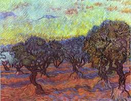 olive grove painting vincent van gogh olive grove art painting
