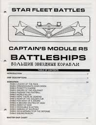 Star Fleet Battles Master Ship Chart Module R5 Rulebook 5610 2 7 50 Star Fleet Store