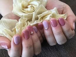 Nail Salon Freestyle人気カラーを色変えっ ペールアーモンドペール