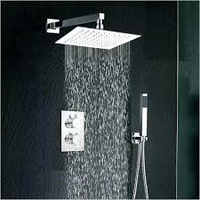 moen rain shower head. Moen Rain Shower Head And Handheld Square With Spray .