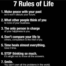 Inspirational Positive Quotes 40 Rules Of Life QuotesViral Best 7 Rules Of Life Quote