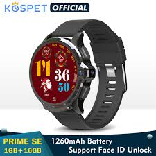 2020 <b>KOSPET Prime</b> SE 1GB 16GB Smart Watch For Men 1260mAh ...