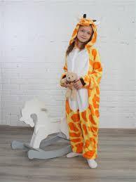 Кигуруми <b>Жираф</b>, L.A.G., р.125/140 — купить в интернет ...