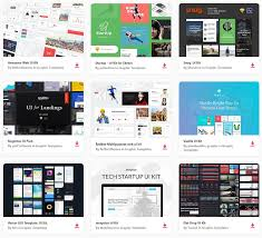 50 Free Ui Kits Psd Templates For Web Mobile Designs Graphiceat