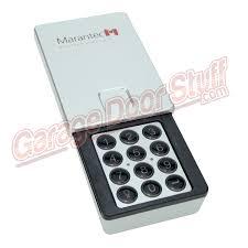 marantec garage door opener wireless keypad