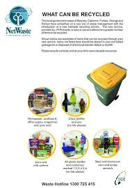 Things To Recycle What Can And Cant Be Recycled Netwaste