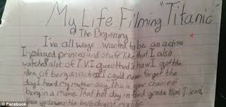 alexandrea owens who danced leonardo dicaprio in titanic is all about it recently she took to facebook to share an essay that