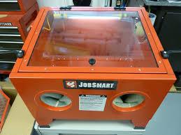 Abrasive Blasting Cabinet Tsc Jobsmart Blast Cabinet Modifications Srvctec