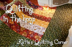 How to quilt using your embroidery machine &  Adamdwight.com