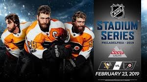 flyers nhl 2019 coors light nhl stadium series announced
