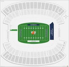 Gillette Stadium Seating Map Football Maps Resume
