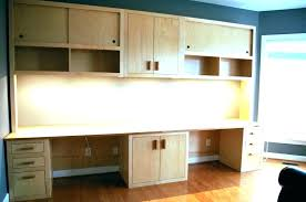 kitchen cabinets for home office. Attractive Desk With Cabinets For Home Office L Shaped Design Contemporary Kitchen D